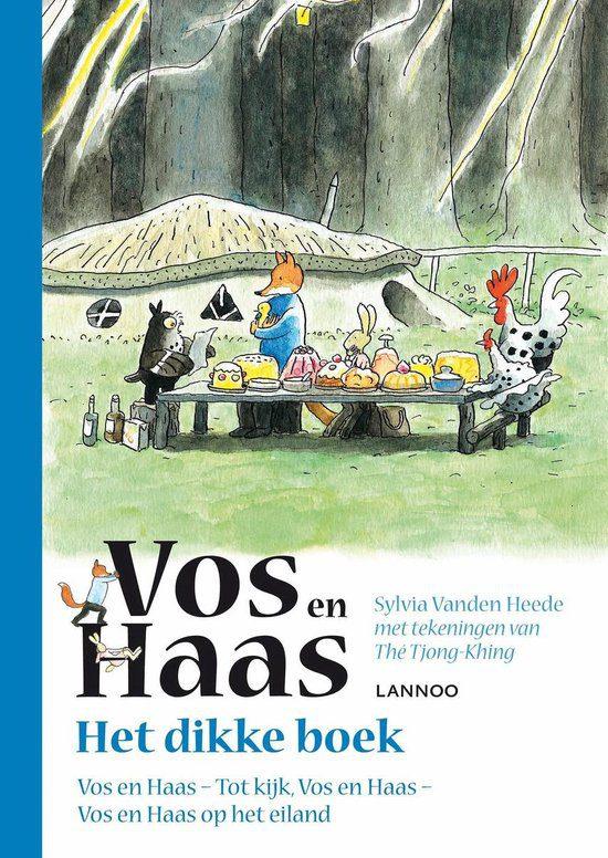 Het dikke boek van Vos en Haas voorlezen kleuter