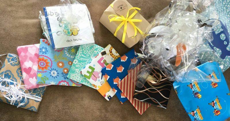 babyshower zonder spelletjes boeken geven