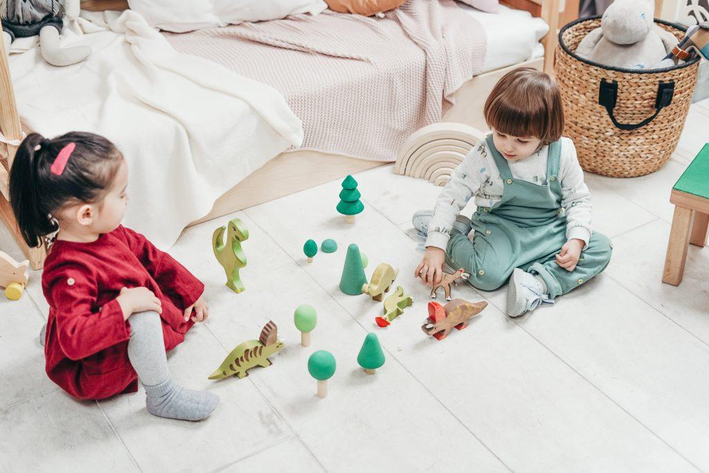 samen spelen samen delen kleuter leeftijd