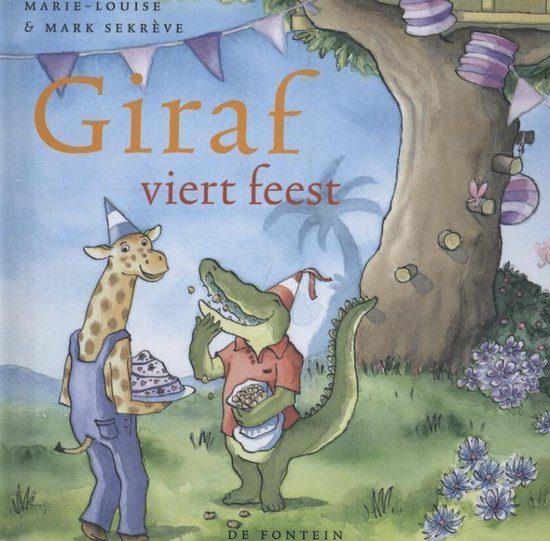 giraf viert feest voorlezen peuter