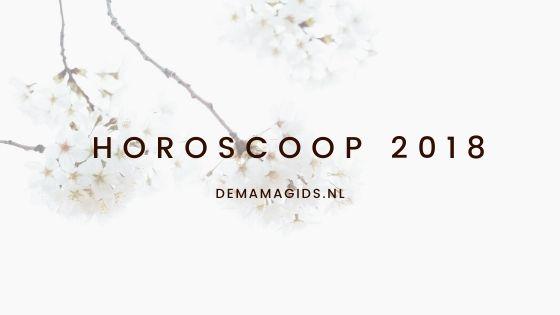 Horoscoop januari 2018