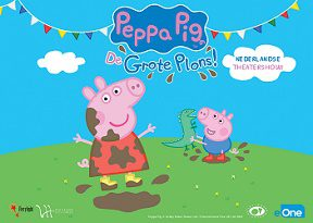 Peppa Pig Grote Plons theater peuters