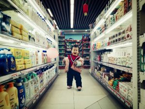 driftbui peuter supermarkt voorkomen