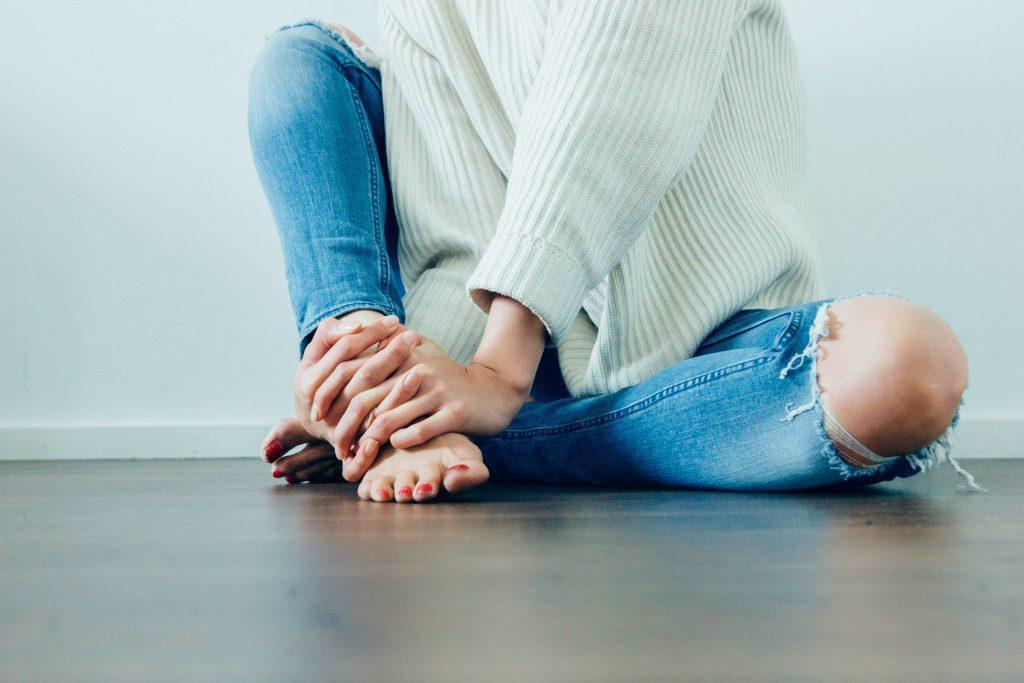voeten verzorgen zwangerschap droge voeten vocht vasthouden