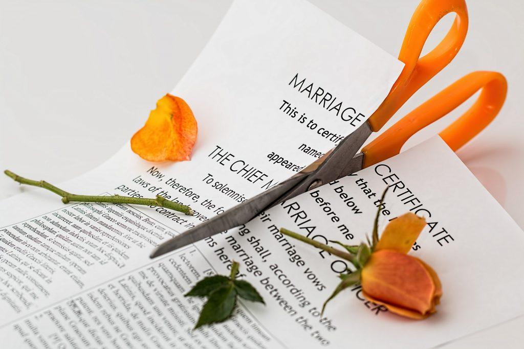 welke vormen van echtscheiding zijn er