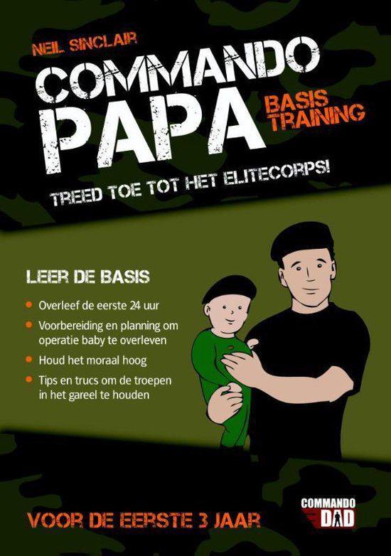 commando papa basistraining boek zwangerschap