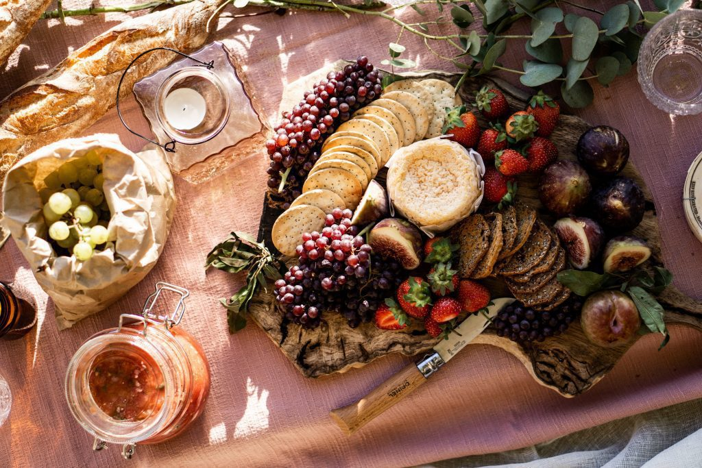 inspiratie lekkere hapjes gezond picknick