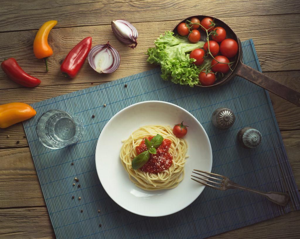 pastagerechten voor moeilijke eters