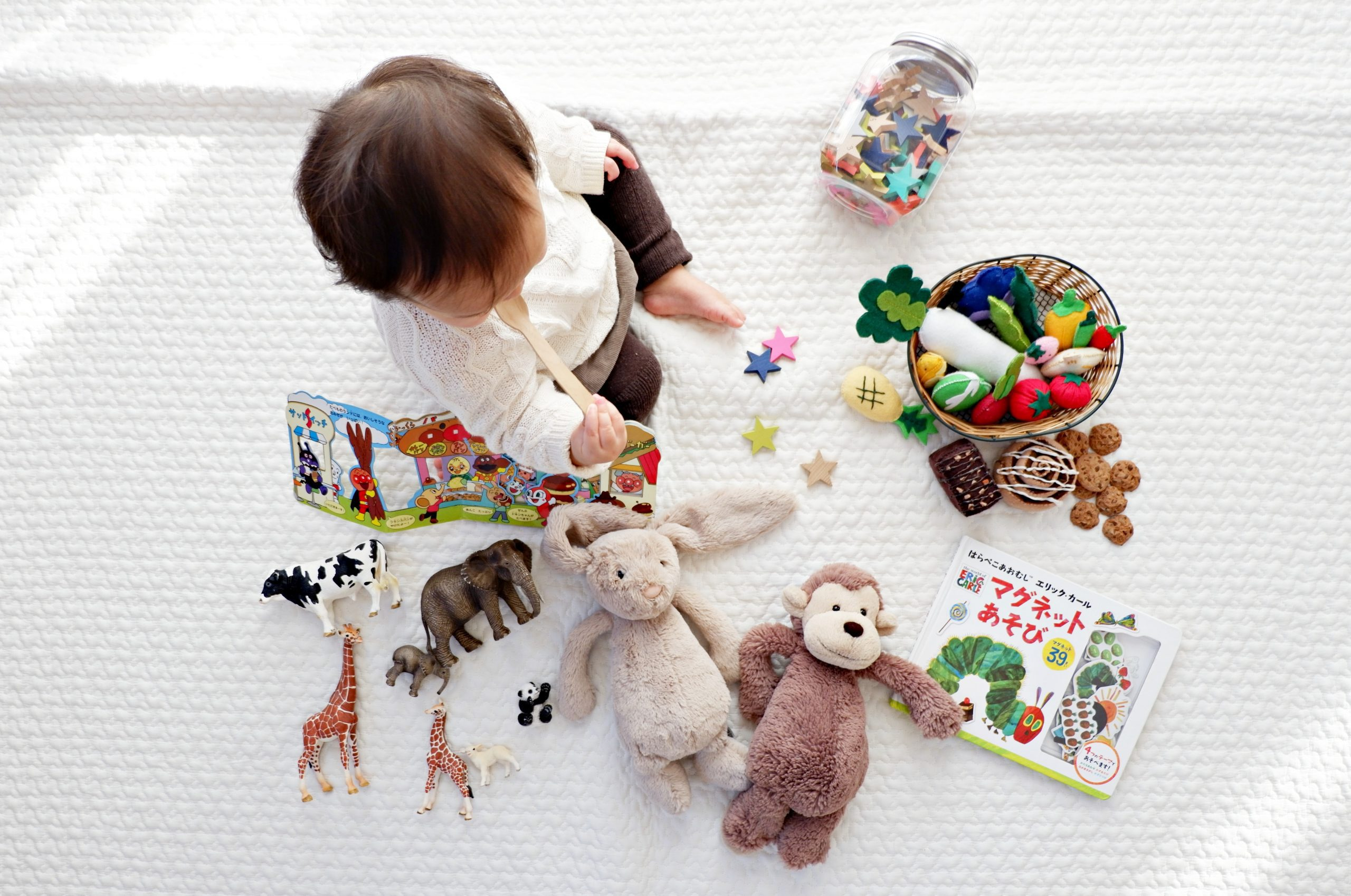 te veel speelgoed slecht voor kind