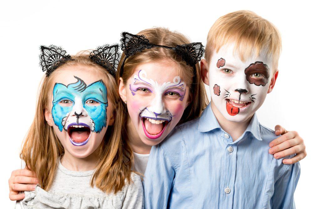 kinderen schminken tips voor dummies
