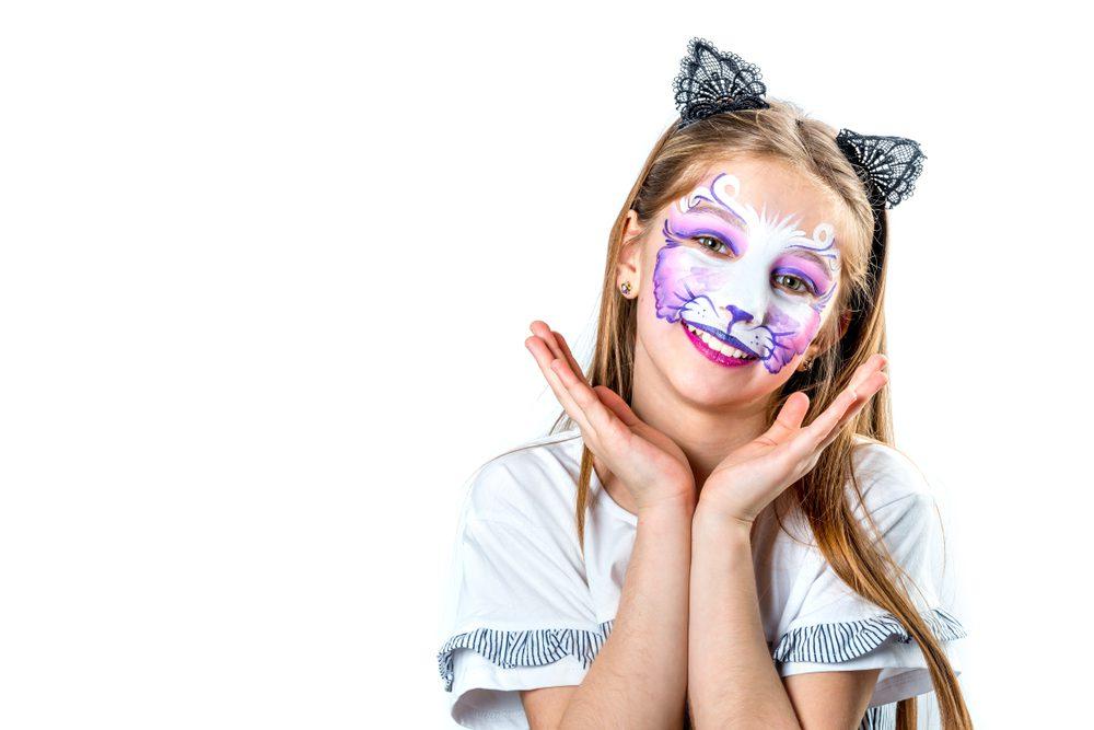 wat heb je nodig om kinderen te schminken