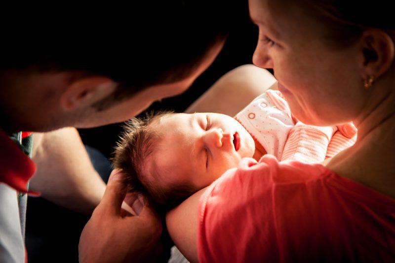 wennen aan het moederschap