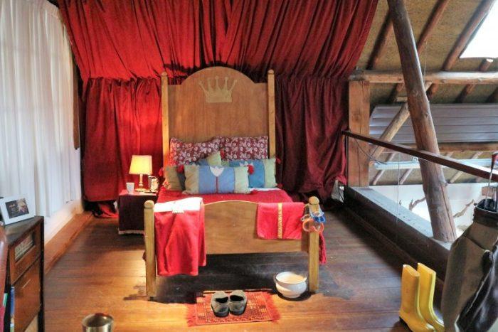 bed van Sinterklaas landgoed van Sinterklaas duinrell