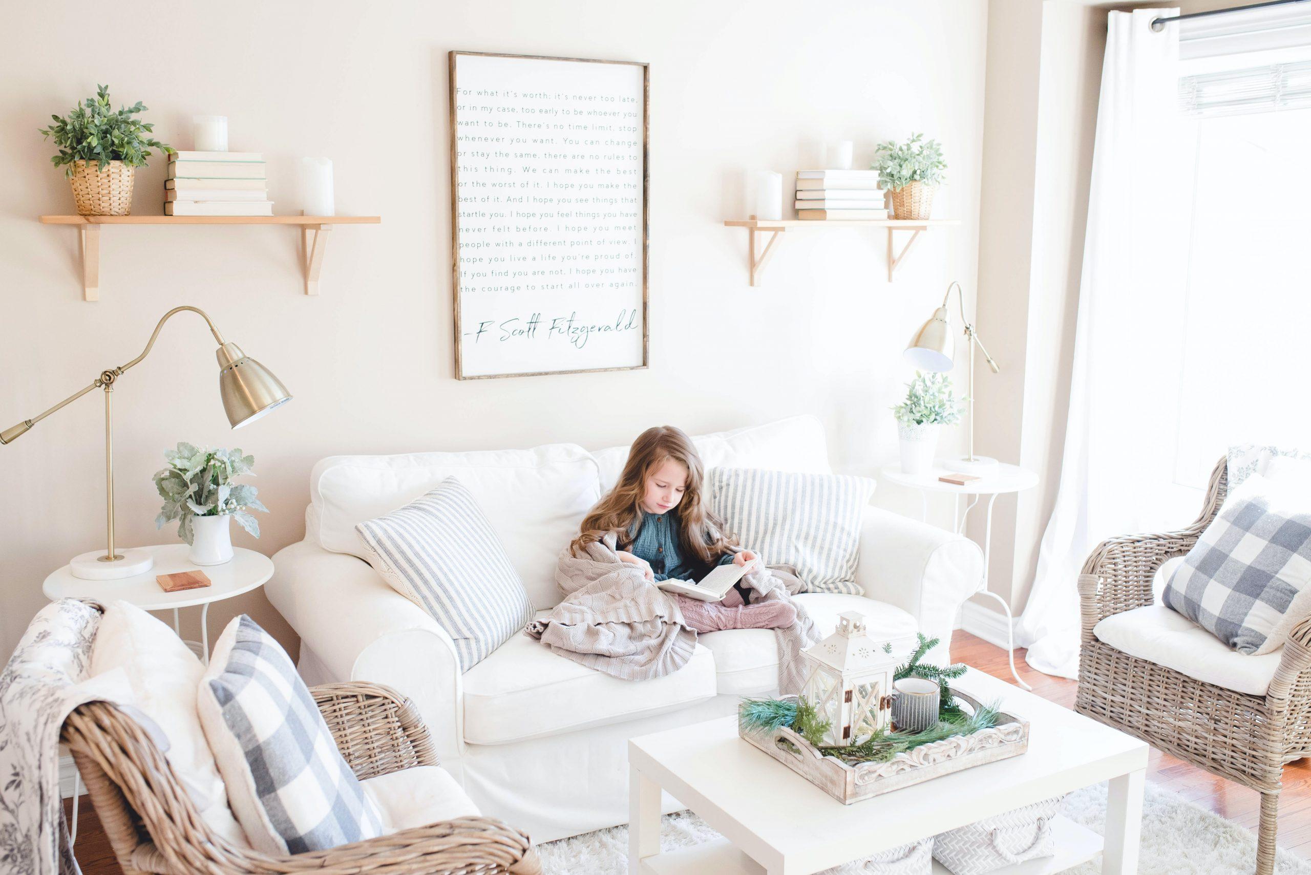 make-over woonkamer zonder troep