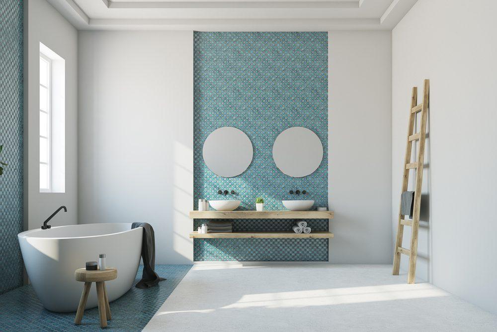 mozaiektegels badkamer plaatsen tips