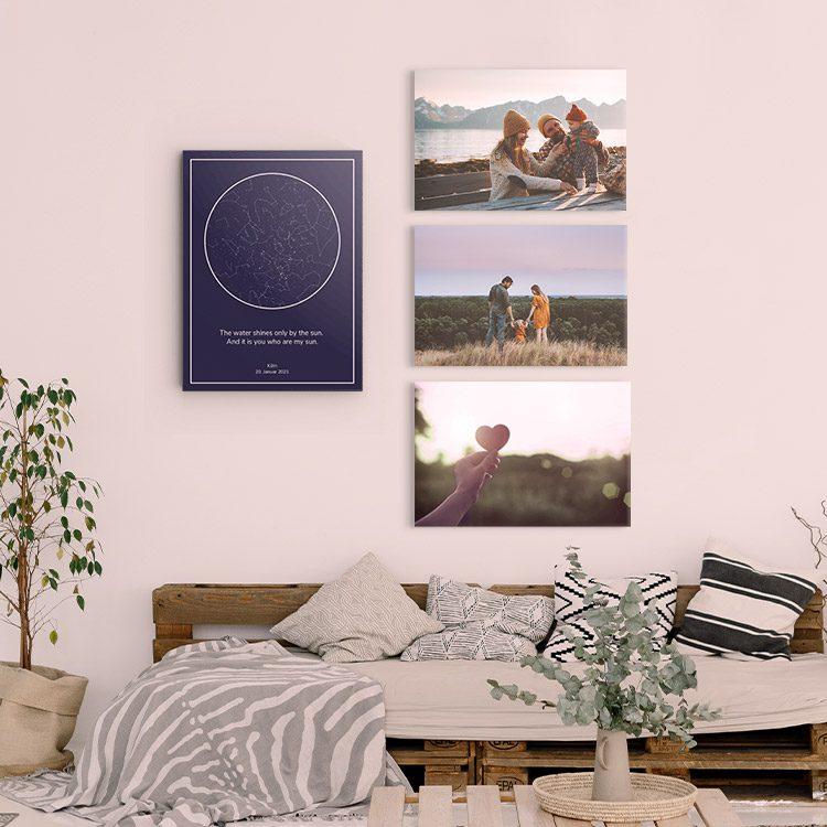 hoe maak je een unieke fotowand kinderen gezin