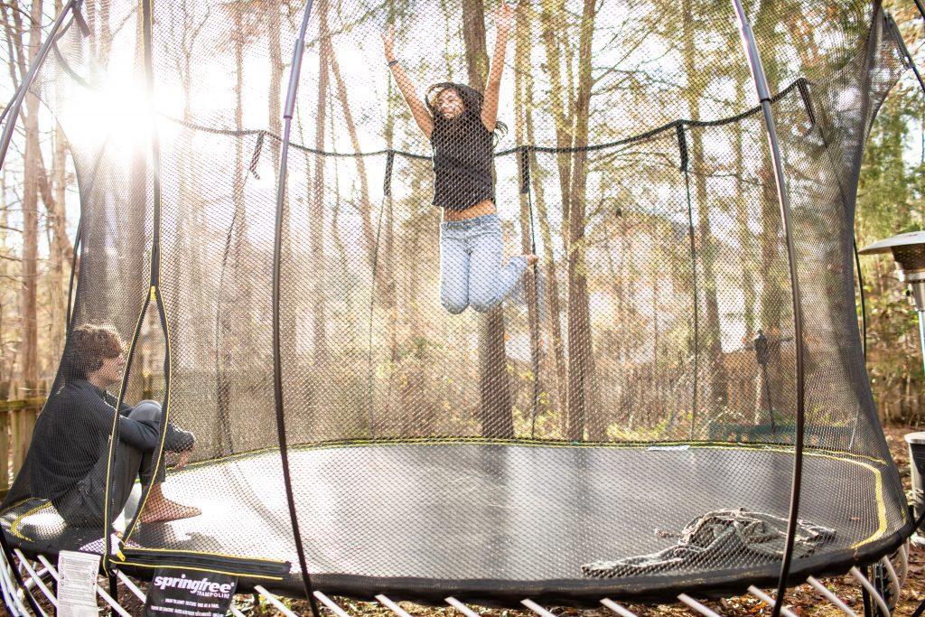 waarom trampoline tuin kinderen voordelen