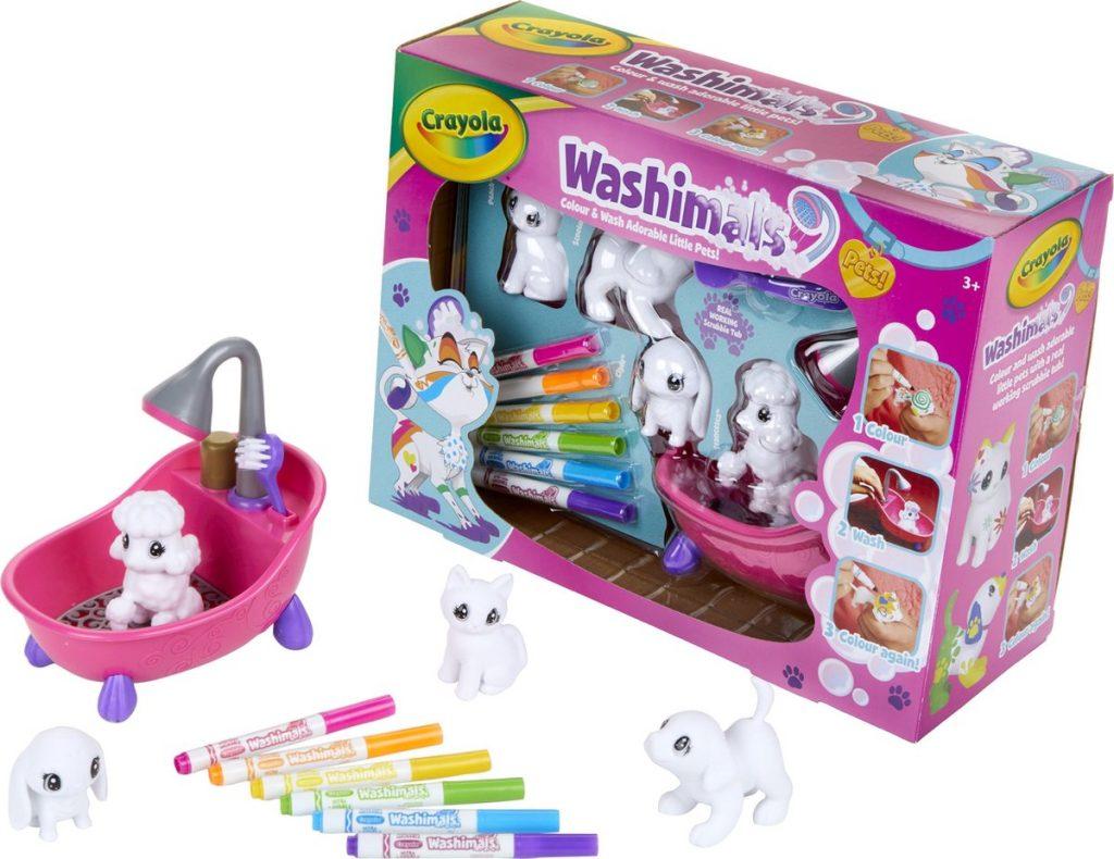 Speelgoed van het jaar 2021 4-5 jaar Washimals huisdieren Crayola