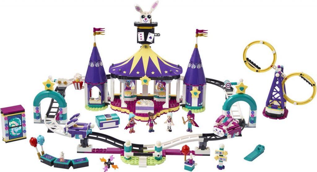 Speelgoed van het jaar 2021 LEGO Friends Magische Kermisachtbaan 8-9 jaar