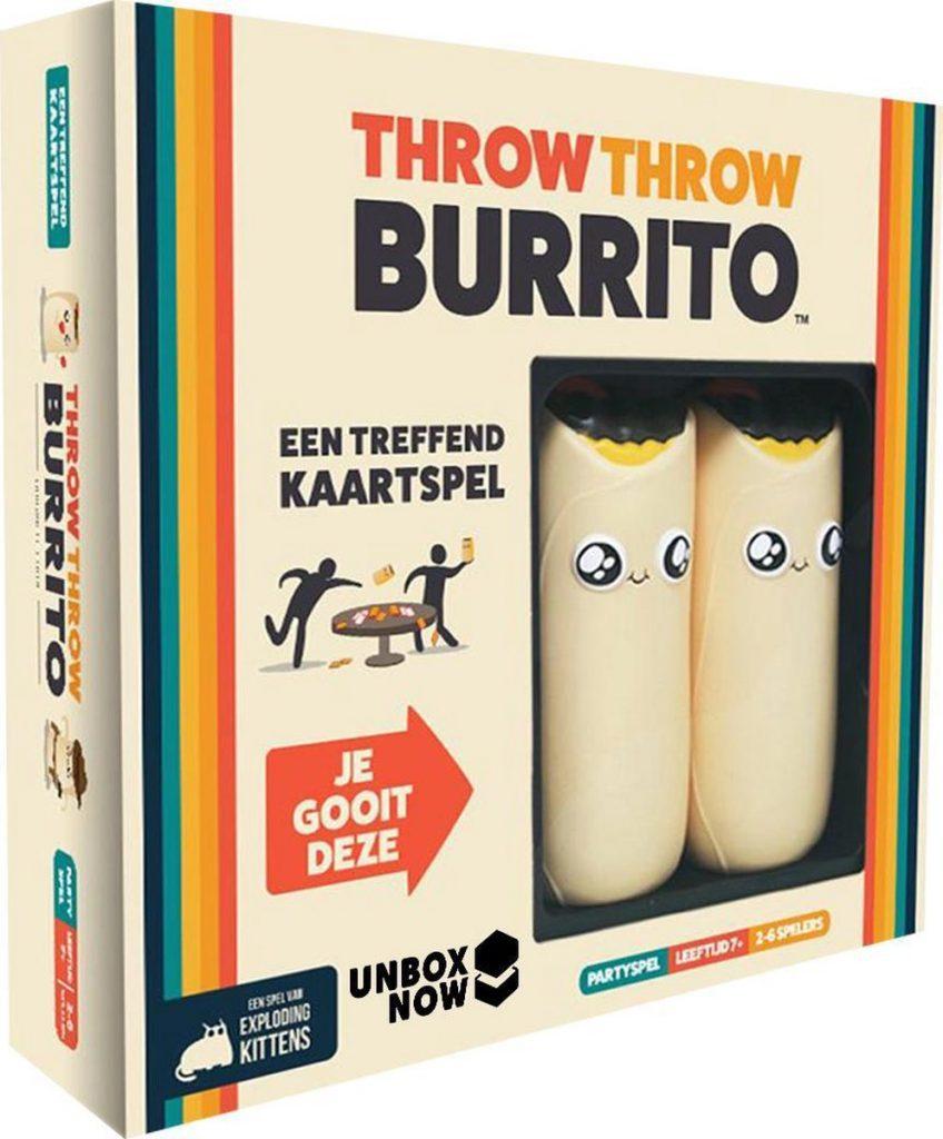 speelgoed van het jaar 2021 Throw Throw Burrito Asmodee